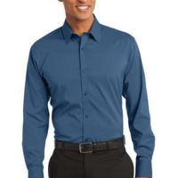 Stretch Poplin Shirt Thumbnail