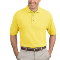 Heavyweight Cotton Pique Polo Thumbnail