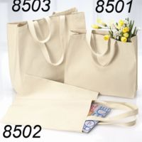 12 Ounce Gusseted Cotton Canvas Tote Thumbnail