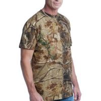 ™ Realtree ® Explorer 100% Cotton T Shirt with Pocket Thumbnail