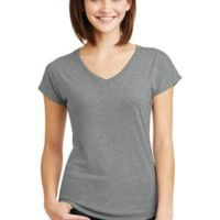 Ladies Tri Blend V Neck Tee Thumbnail
