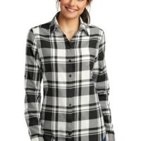 Ladies Plaid Flannel Tunic Thumbnail