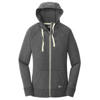 ® Ladies Sueded Cotton Blend Full Zip Hoodie Thumbnail