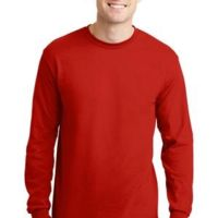 Copy of DryBlend ® 50 Cotton/50 Poly Long Sleeve T Shirt Thumbnail
